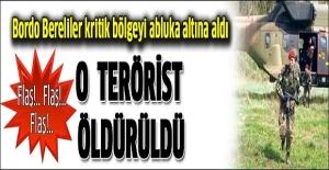 Bordo Bereliler keskin nişancı teröristi öldürdü